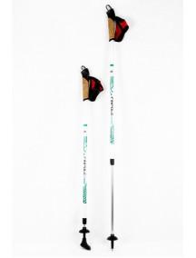 Finpole STAR Белые палки для скандинавской ходьбы