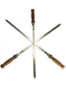 """Шампур """"Финист"""" для люля-кебаб c деревянной ручкой, 47 см"""