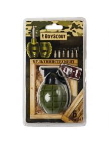 """Boyscout """"Ф-1"""" 6 функций мультиинструмент"""