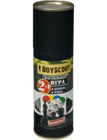 "Boyscout 2 в 1 ""Уголки"" магнитные шахматы"