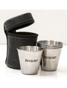 Boyscout 4 штуки стальной набор стопок