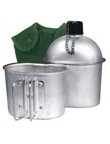 Boyscout с кружкой алюминиевая фляжка