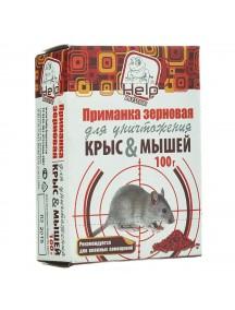 HELP для уничтожения крыс и мышей зерновая приманка