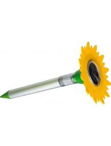 Отпугиватель кротов HELP ультразвуковой с фонариком (зарядка от солнечной батареи)