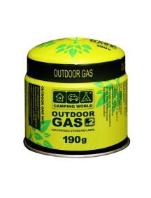 Картридж газовый Camping World CW 190 г (прокольный) газовый