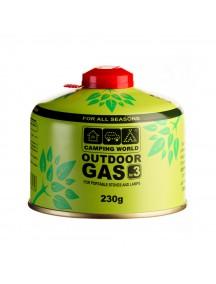 Картридж газовый Camping World CW 230 г (резьбовой) газовый