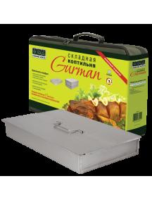 Складная коптильня из нержавеющей стали Gurman, размер L (2 яруса)