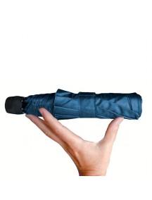 Зонт Light Trek Navy Blue механический складной синий