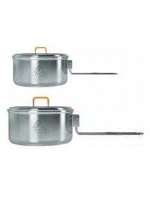 Набор посуды 1-2 персоны Kovea NZ (нержавеющая сталь)