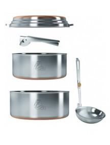Набор посуды 2-3 персоны Kovea NZ (нержавеющая сталь)