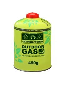 Картридж газовый Camping World 450 г (резьбовой)