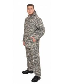 Защитный мужской костюм Биостоп Оптимум зеленый от клещей и кровососущих насекомых