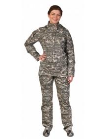 Защитный женский костюм Биостоп КМФ 1 зеленый от клещей и кровососущих насекомых