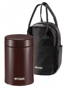 Термоконтейнер для первых или вторых блюд Tiger MCJ-A075 Cocoa, 0,75 л в сумке