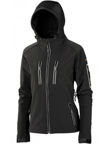 Куртка с капюшоном Women's Hooded Jacket Black