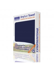 Полотенце из микрофибры CW Dryfast Towel M, цвет темно-синий